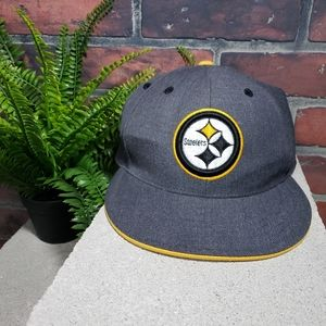 Vintage Mitchell & Ness Steelers Men's Hat Fitted